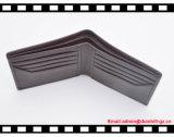 Carteira genuína imperial coreana importada RFID elegante do couro do couro