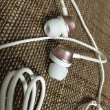 Fone de ouvido híbrido do metal da em-Orelha com o Mic para o iPhone e a Samsung Huawei etc.