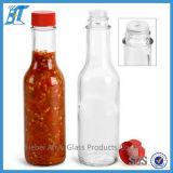 5oz 10oz Woozy Galheta Soja ketchup, molho de soja garrafa de vidro, frasco de vidro de molho de pimenta