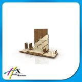 Изготовленный на заказ акриловая деревянная индикация выставки ювелирных изделий вахты