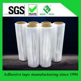 Пленка обруча ясности простирания LLDPE прозрачная для упаковки паллета