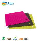 Suporte de pratos quentes de silicone / protetor de mesa / placa de plástico promocional