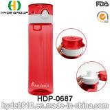Bottiglia di acqua di plastica personalizzata portatile di 650ml BPA liberamente, bottiglia di acqua all'ingrosso della bevanda di Tritan (HDP-0687)