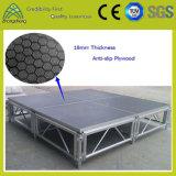 1.22m*1.22m Stadiums-Leistungs-Geräten-bewegliches Furnierholz-Aluminiumstadium