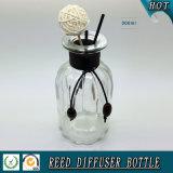 300ml effacent la bouteille tubulaire en verre de diffuseur