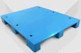 Plastic Pallet 1100*1100*140mm van de Producten van de Opslag van het pakhuis Vlakke Grote Negen HDPE van de Plastic Voeten Pallet Statische 4t (zg-1111)