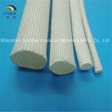 Isolation thermique de fibre de verre tressée anti-calorique de Non-Alcali gainant à 500c