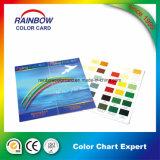 Diagramma di colore lucido di stampa della vernice per la pubblicità