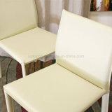 レストラン(SP-LC218)の流行の段階的人工的な白い食事の椅子