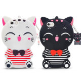Cute Cartoon Housse en Silicone pour iPhone