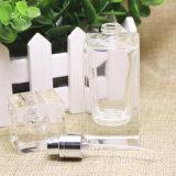 Capacité vide 50ml de bouteille de parfum de jet de bouteille de parfum à bouteilles de bouteille en cristal de verre grande