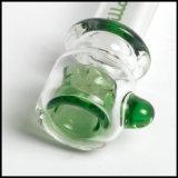Vidrio que fuma del Steamroller de Hfy de Chillum Illadelph del tubo del verde de Onie del tubo de cristal de cristal de la mano