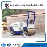 3 toneladas de rolo de estrada duplo inteiramente hidráulico do cilindro com o motor Diesel 26kw de Ubota