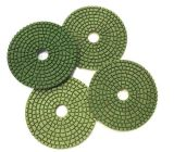 3 étapes économique pierre abrasive Diamond Polishing Pads humide