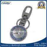 Изготовленный на заказ цепь ключевого кольца логоса автомобиля высокого качества ключевая