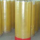 Nastro adesivo enorme del Rolls della gomma giallastra di BOPP