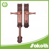 Grande maniglia di portello dei migliori prodotti con la leva di /Zinc della serratura sul Platemade in Cina