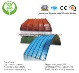 Strato di alluminio rivestito di colore ondulato di alluminio del tetto