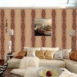 Novo design estampar o papel de parede para a sala de estar