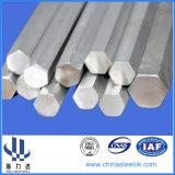 barra de acero Hex 55simnmo con el taladro Rod del orificio B22