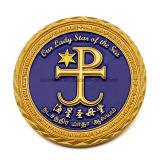Oro su ordinazione del ricordo di religione e moneta d'argento