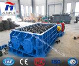Gruesa Molino de cilindros trituradora / carbón / piedra caliza trituradora / machacadora de dos rodillos