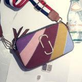 La nuova signora di sacchetto di Crossbody del progettista di colore di contrasto insacca la borsa di cuoio Sy7840 dell'unità di elaborazione