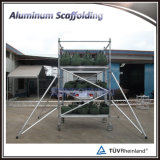 Andaime móvel de alumínio de pouco peso de Constructure