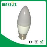 고품질 실내 6W C37 LED 초 빛 E14