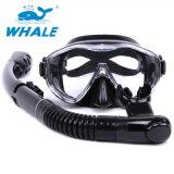 スキューバダイビング装置の太字のダイビングマスクおよびスノーケルセット