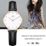 De dames letten op In het groot Nieuwe Aankomst Dame Design Bracelet Watch 71128