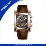 La mode en cuir unisexe Watch pour nouveau style de Bijoux en acier inoxydable