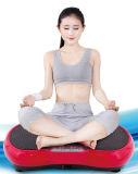 Placa louca da vibração da massagem do ajuste da aptidão magro do corpo