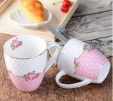 Tazas de café al por mayor del restaurante taza de cerámica blanca clásica de 11 onzas