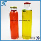 300ml y 350ml, 500 ml de botellas de vidrio botellas de zumo de vidrio con tapa