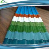 Azulejos de acero recubiertos de color de alta calidad Azulejos galvanizados