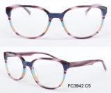 Het nieuwe Optische Frame van de Acetaat van de Goede Kwaliteit van het Ontwerp voor Dame met Eyewear (van Ce)