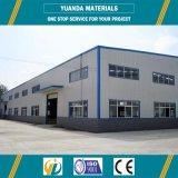 Atelier préfabriqué d'usine de structure métallique de modèle de construction
