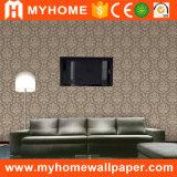 Faible prix de lourdes pour les murs de papier peint en vinyle PVC