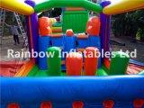Castillo Inflable o hinchable pequeño hogar Saltar Castillo