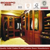 現代贅沢4のドアの木製の寝室のワードローブ(GSP9-005)