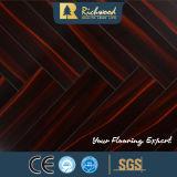 pavimentazione laminata resistente dell'acqua del faggio dello specchio di 12.3mm E1 HDF AC4