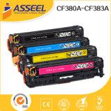 Farben-Toner-Kassette der CF380A Serien-CF380X erstklassige für Gebrauch in HP Mfp M476dw/476dn/476nw