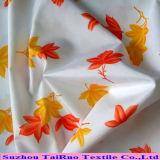 Microfiber Polyester-Rohseide mit gedruckt für Schuluniform