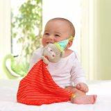 Cobertor enchido bebê do brinquedo do luxuoso do cobertor do conforto do urso & do coelho
