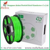 Vente en gros Green 1.75mm 3mm Plastic 3D Printing PLA Filament