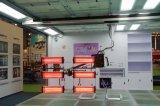 Elevación tridimensional de la plataforma de Yokistar para la cabina de aerosol