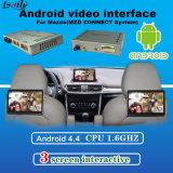 4-Core система навигации поверхности стыка видеоего Android 5.1 Android для 14-17 Mazda