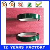 厚さ: 0.085mmの長さ: 33m高温緑ペットフィルムはシリコーンポリエステルテープを基づかせていた