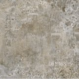 azulejo de suelo de cerámica esmaltado rústico de Matt de la inyección de tinta de 600*600m m para la sala de estar
